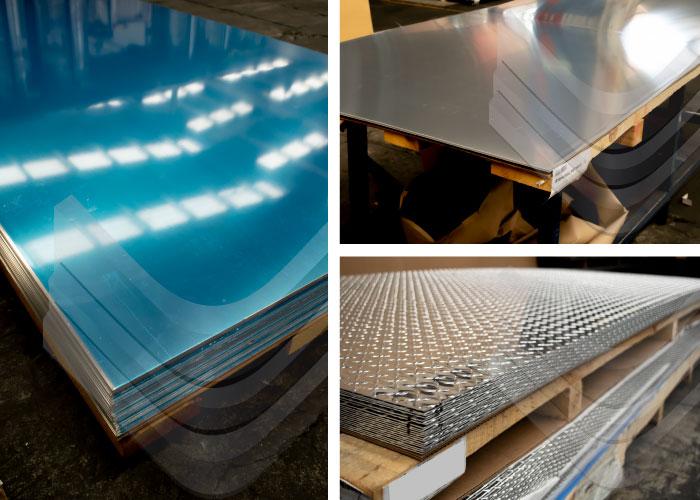 Productos planos de Aluminio, Inoxidables Victoria