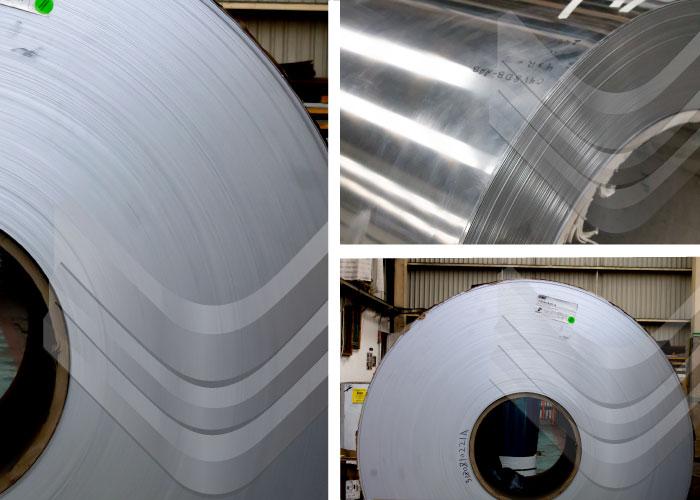 Rollo de aluminio, Inoxidables Victoria