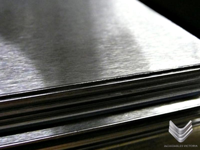 placa de acero inoxidable